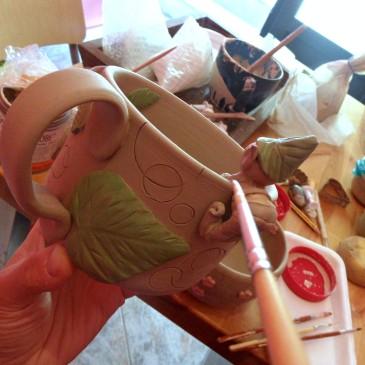 Ceramica personalizzata!
